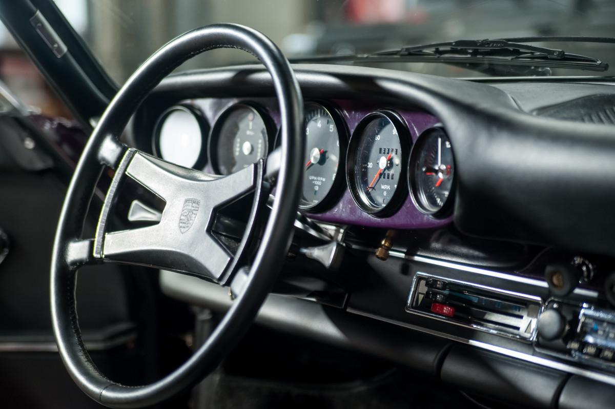 1972 Porsche 911t Rare Aubergine