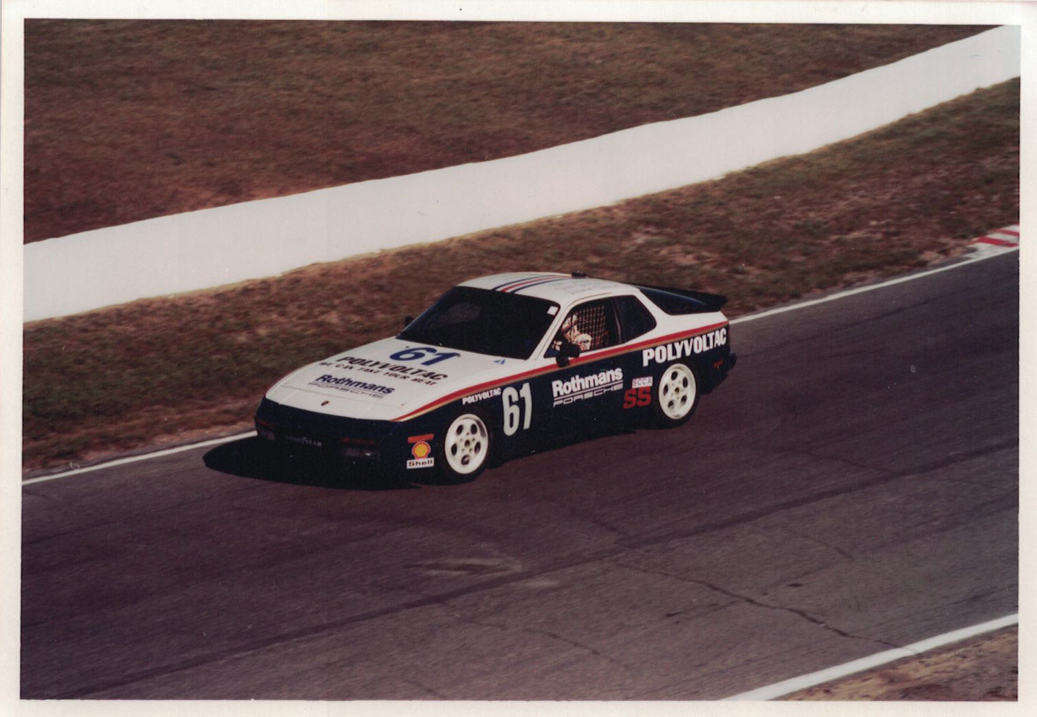 1987 Porsche 944 Turbo Cup SCCA/Escort Cup Series